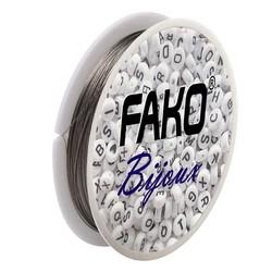 Fako Bijoux® - Staaldraad - Nylon Gecoat - Sieraden Maken - 0.35mm - 40 Meter