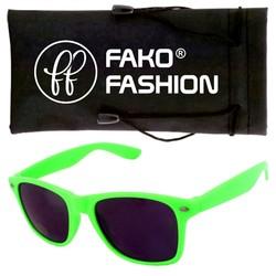 Fako Fashion® - Kinder Zonnebril - Wayfarer - Groen