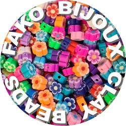 Fako Bijoux® - Klei Kralen Bloemetjes - Figuurkralen - Kleikralen - 10mm - 100 Stuks