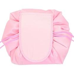 Fako Fashion® - Magic Travel Pouch - Cosmetic Opberg Tas - Make-up Opbergsysteem - Make-up Toilettas - Reistas - Cosmetica Accessoires Organiser - Handige Toilettas - Lichtroze