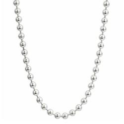 Fako Bijoux® - Bolletjes Ketting - Ball Chain - RVS - Stainless Steel - 3mm - 70cm - Zilverkleurig
