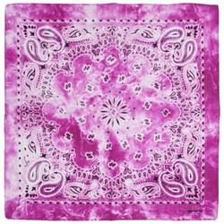 Fako Fashion® - Paisley Bandana - Tie Dye - Acid Wash - Fuchsia