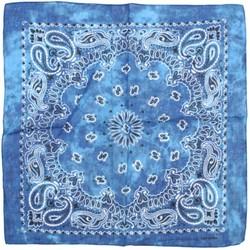 Fako Fashion® - Paisley Bandana - Tie Dye - Acid Wash - Lichtblauw