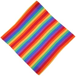 Fako Fashion® - Bandana - Regenboog Gestreept - Rainbow