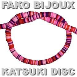 Fako Bijoux® - Katsuki Disc Kralen - Polymeer Kralen - Surf Kralen - Kleikralen - 6mm - 350 Stuks - Mix 1