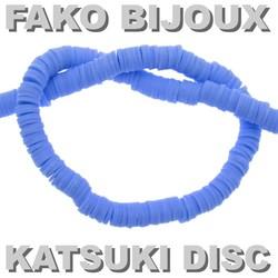 Fako Bijoux® - Katsuki Disc Kralen - Polymeer Kralen - Surf Kralen - Kleikralen - 6mm - 350 Stuks - Lichtblauw