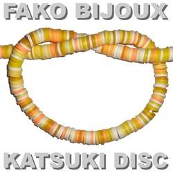 Fako Bijoux® - Katsuki Disc Kralen - Polymeer Kralen - Surf Kralen - Kleikralen - 6mm - 350 Stuks - Mix 2