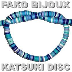 Fako Bijoux® - Katsuki Disc Kralen - Polymeer Kralen - Surf Kralen - Kleikralen - 6mm - 350 Stuks - Mix 3