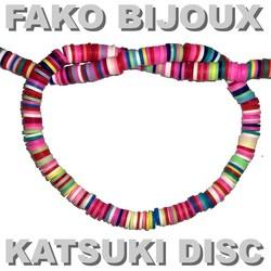 Fako Bijoux® - Katsuki Disc Kralen - Polymeer Kralen - Surf Kralen - Kleikralen - 6mm - 350 Stuks - Mix 9