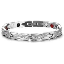 Fako Bijoux® - Armband - Sevilla - Metaal - 20cm - Zilverkleurig