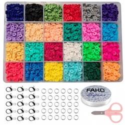 Fako Bijoux® - DIY Katsuki Kralen Set - Sieraden Maken Kit - Zelf Sieraden Maken - 6mm - 4800 Stuks
