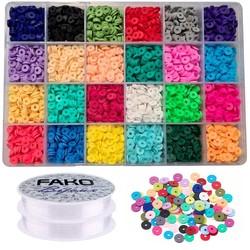 Fako Bijoux® - DIY Katsuki Kralen Set Basic - Sieraden Maken Kit - Zelf Sieraden Maken - 6mm - 4800 Stuks