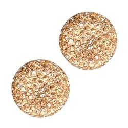Fako Bijoux® - Magnetische Broche Mini - Hoofddoek Magneet - Sjaal - Hijab - Abaya - 13mm - Champagne