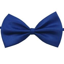 Fako Fashion® - Kinder Vlinderstrik - Vlinderdas - Basic - 10cm - Royal Blauw