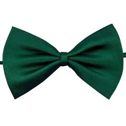 Fako Fashion® - Kinder Vlinderstrik - Vlinderdas - Basic - 10cm - Donkergroen