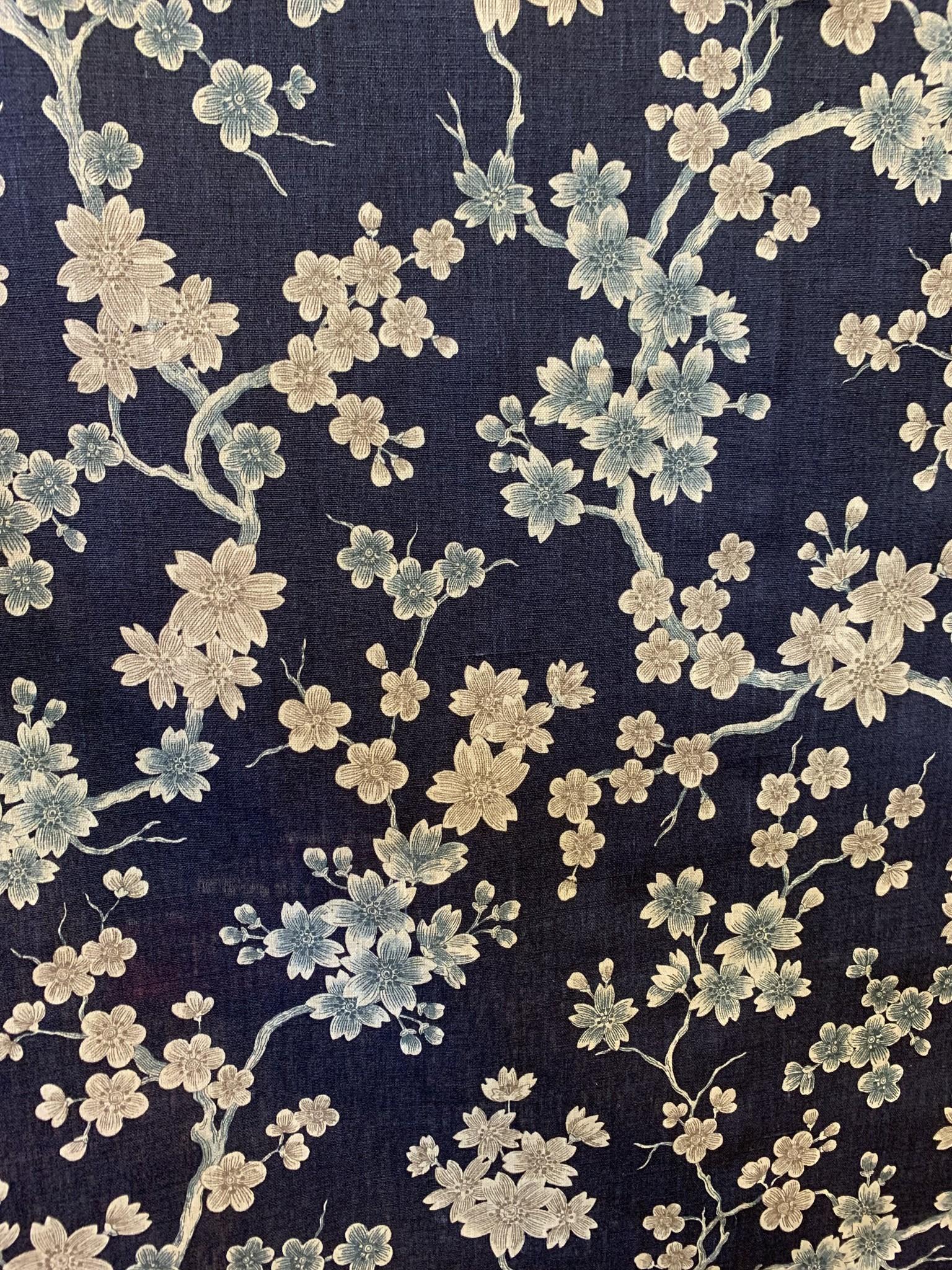 """Le grenier du lin Tissu """"Japonisant"""""""
