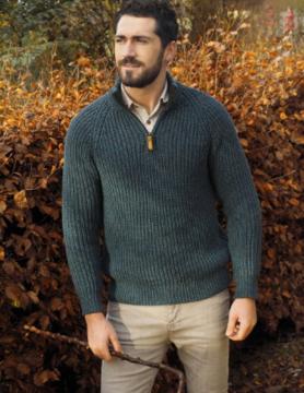 Aran Crafts Sweater Camioneur Aran Crafts