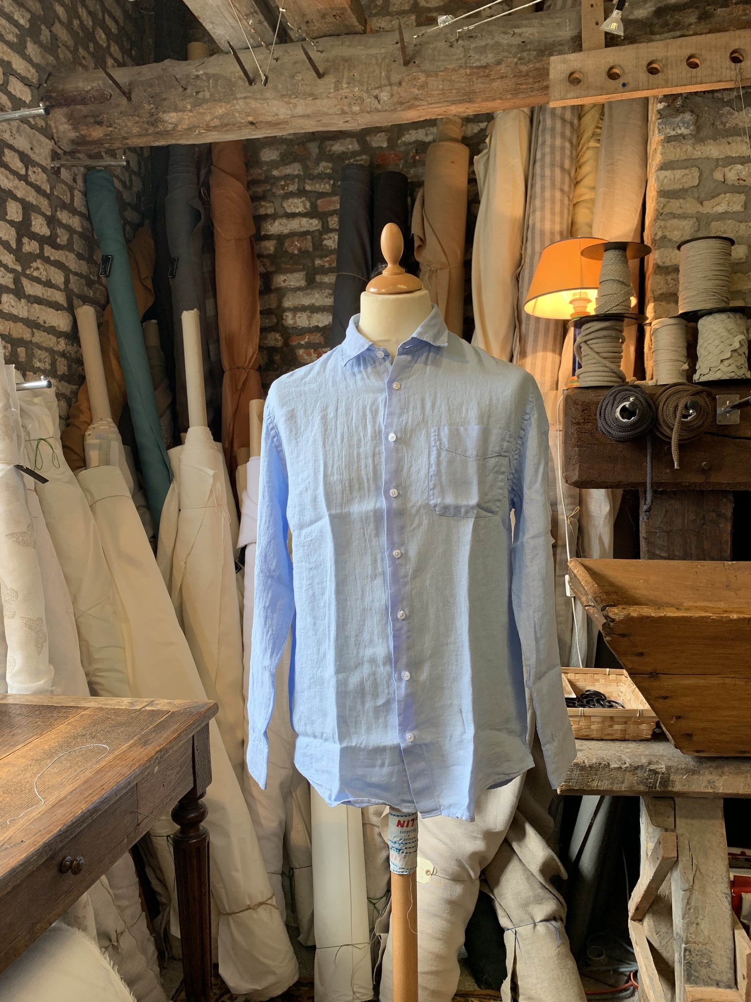Rowland Chemise Homme manches longues