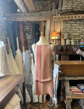 Le grenier du lin Schort oranje strepen