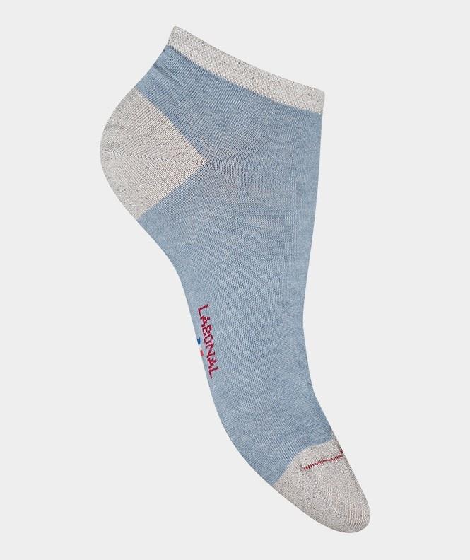 Labonal Dames lage sokken hemel blauw