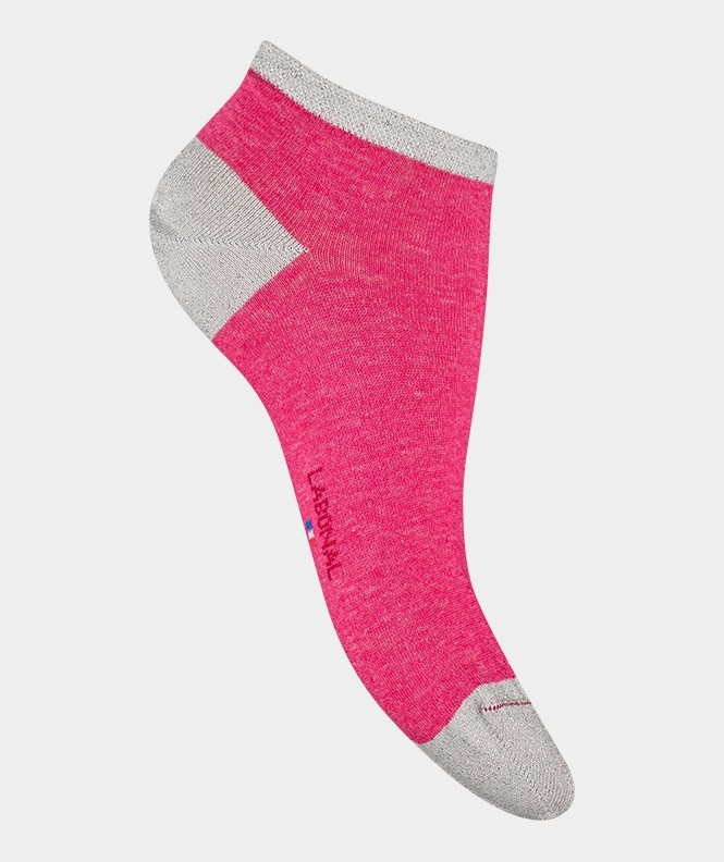 Labonal Dames lage sokken Fuchsia
