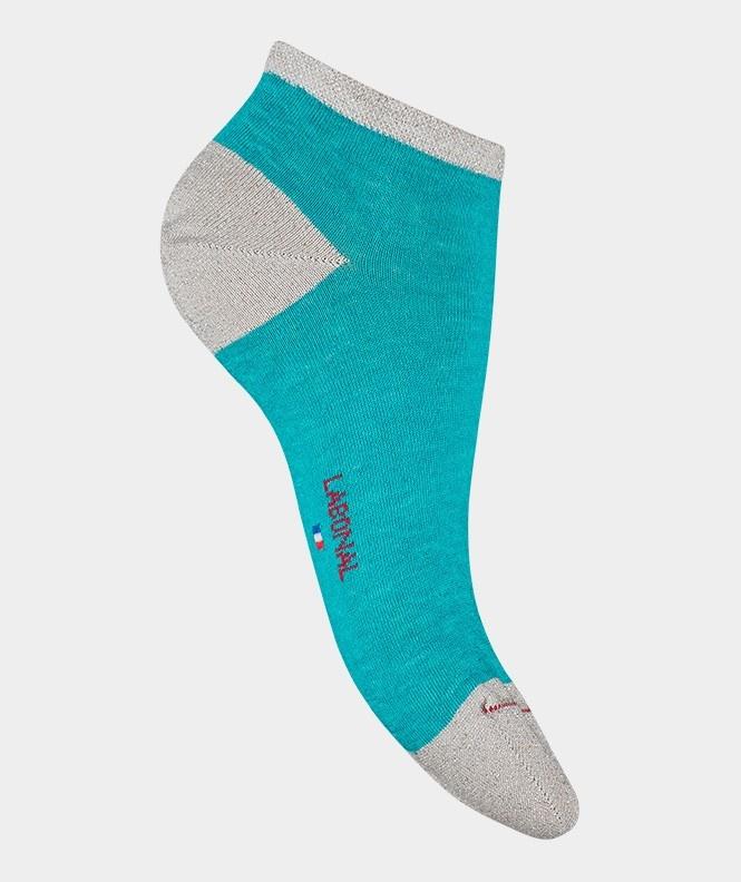 Labonal Dames lage sokken Turquoises