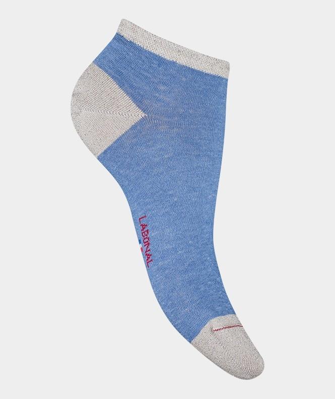 Labonal Dames lage sokken Blauw