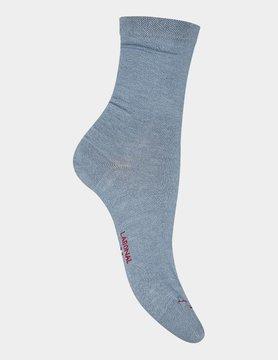Labonal Dames hoge sokken Hemelsblauw