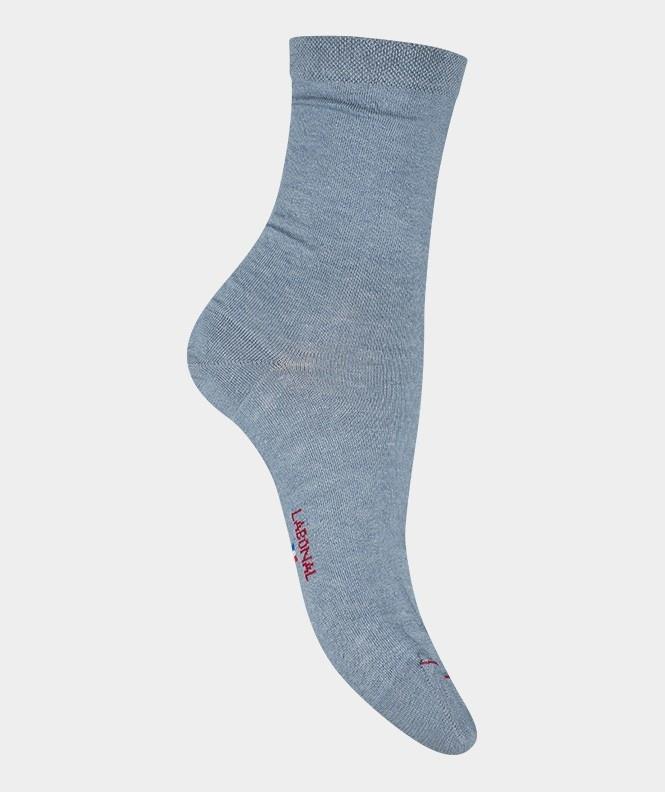 Labonal Dames hoge sokken Hemelblauw