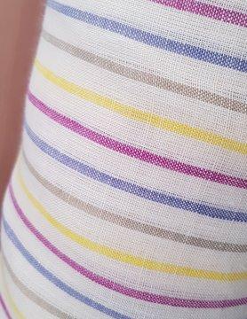 flips ans dobbels Tissu habillement rayé coloré