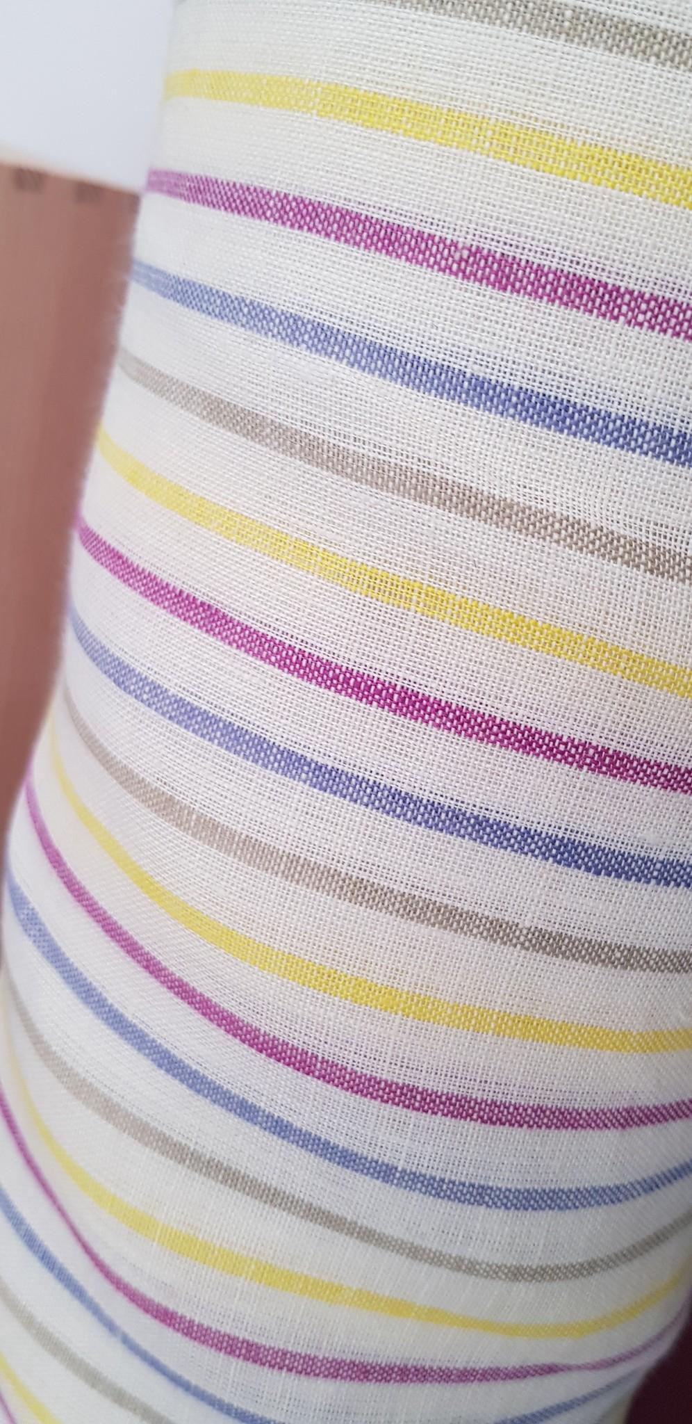 flips ans dobbels Gestreepte gekleurde stof voor kleding