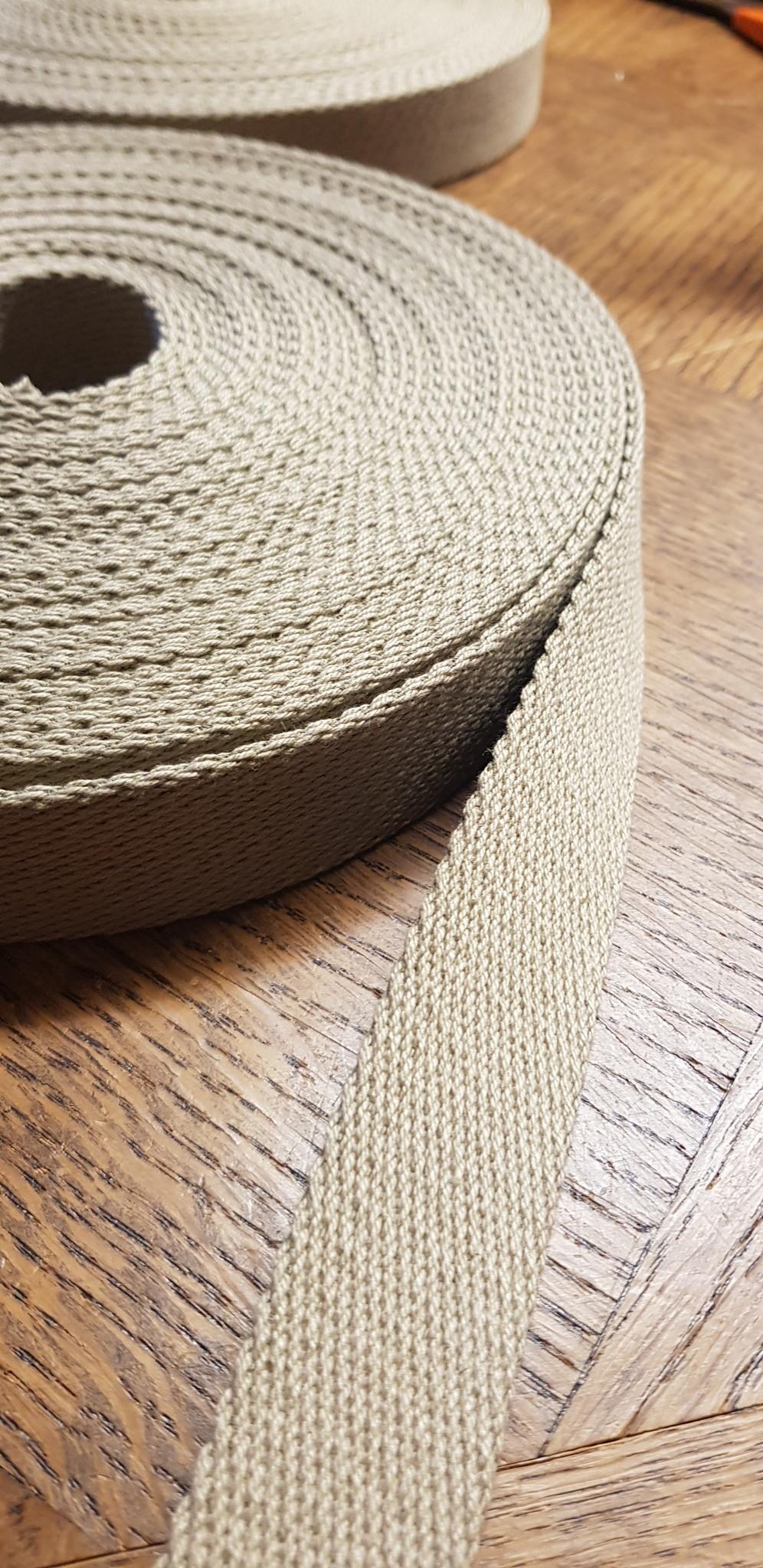Le grenier du lin Sangle couleur lin