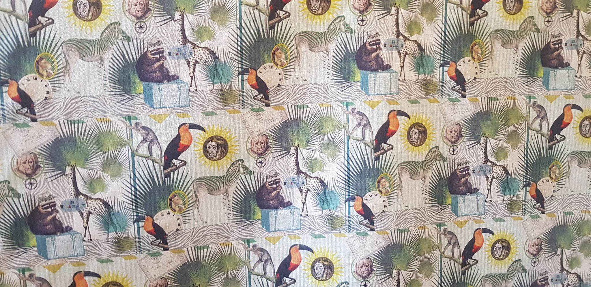 Le grenier du lin Fabric safari