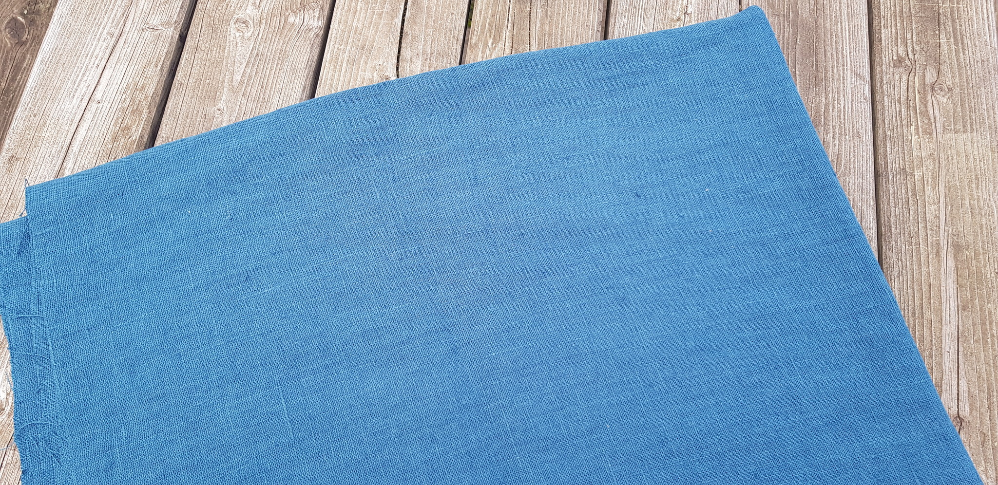 Le grenier du lin tissu lin lavé