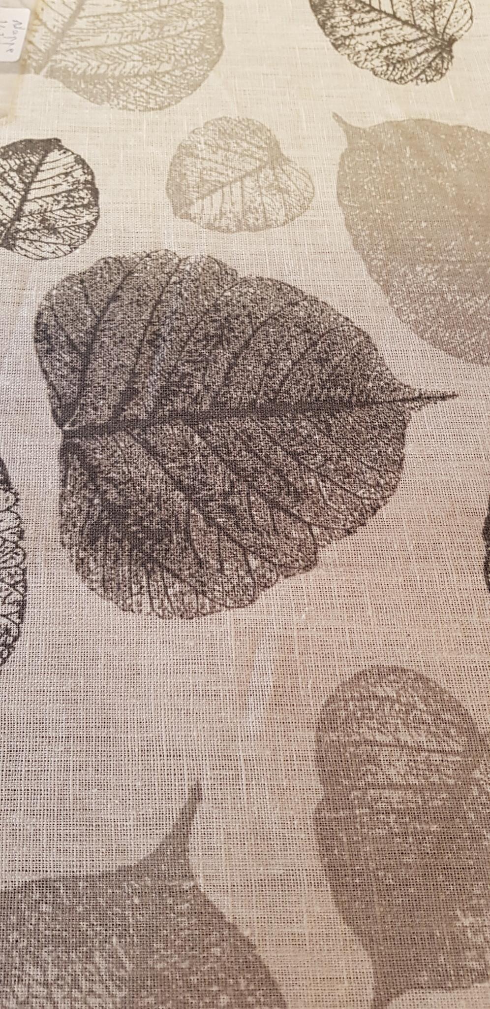 Le grenier du lin nappe feuillage