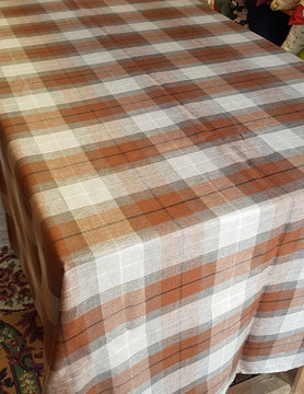 Le grenier du lin tile tablecloth