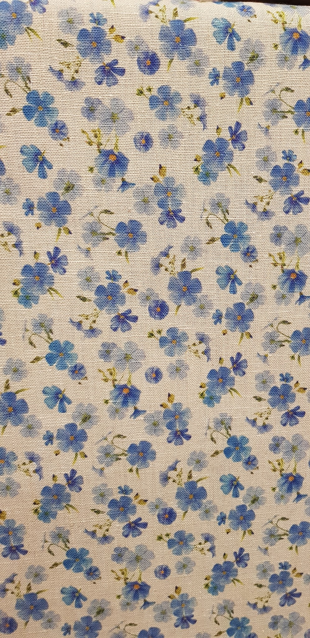 Le grenier du lin fabric flowers of linen