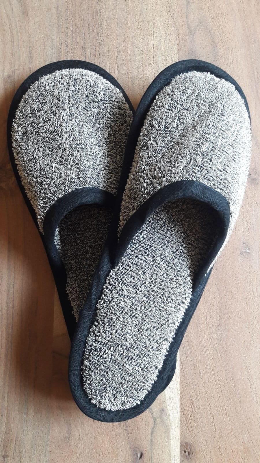 Le grenier du lin chaussons