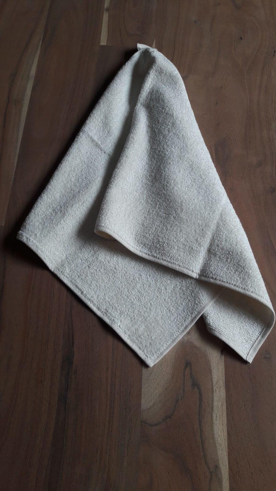 Le grenier du lin serviette invité rayée