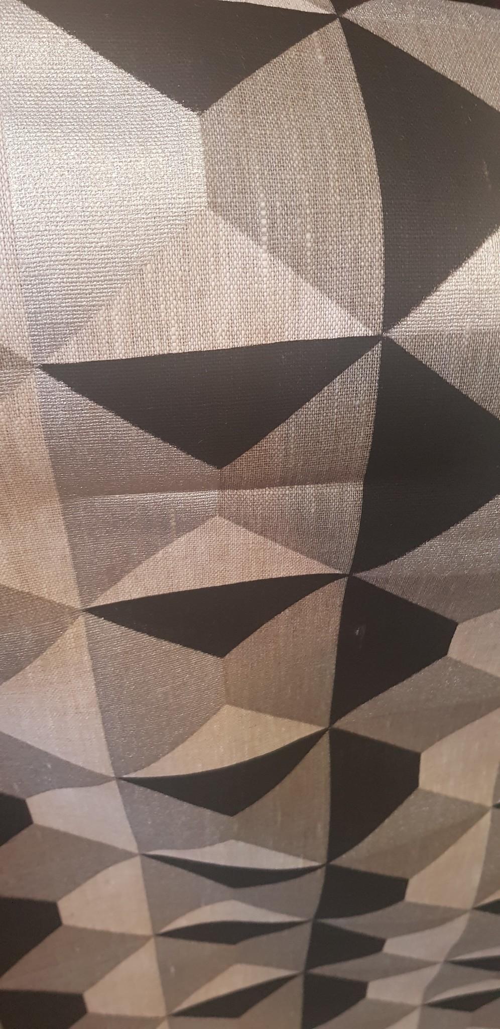 "Geometric"" fabric"