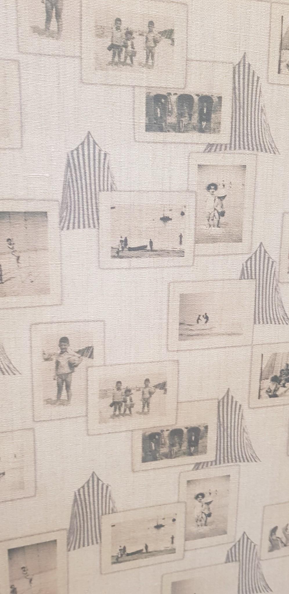 """""""Beach cabin"""" fabric"""
