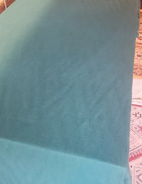 Le grenier du lin Washed linen tablecloth fir green