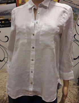 Twee zakjes blouse wit