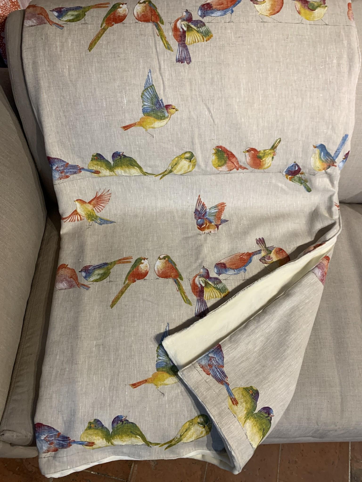 Le grenier du lin Bird blanket