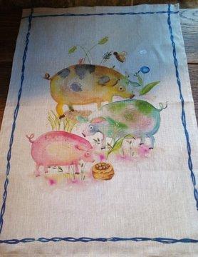 "Dishcloth "" pig """