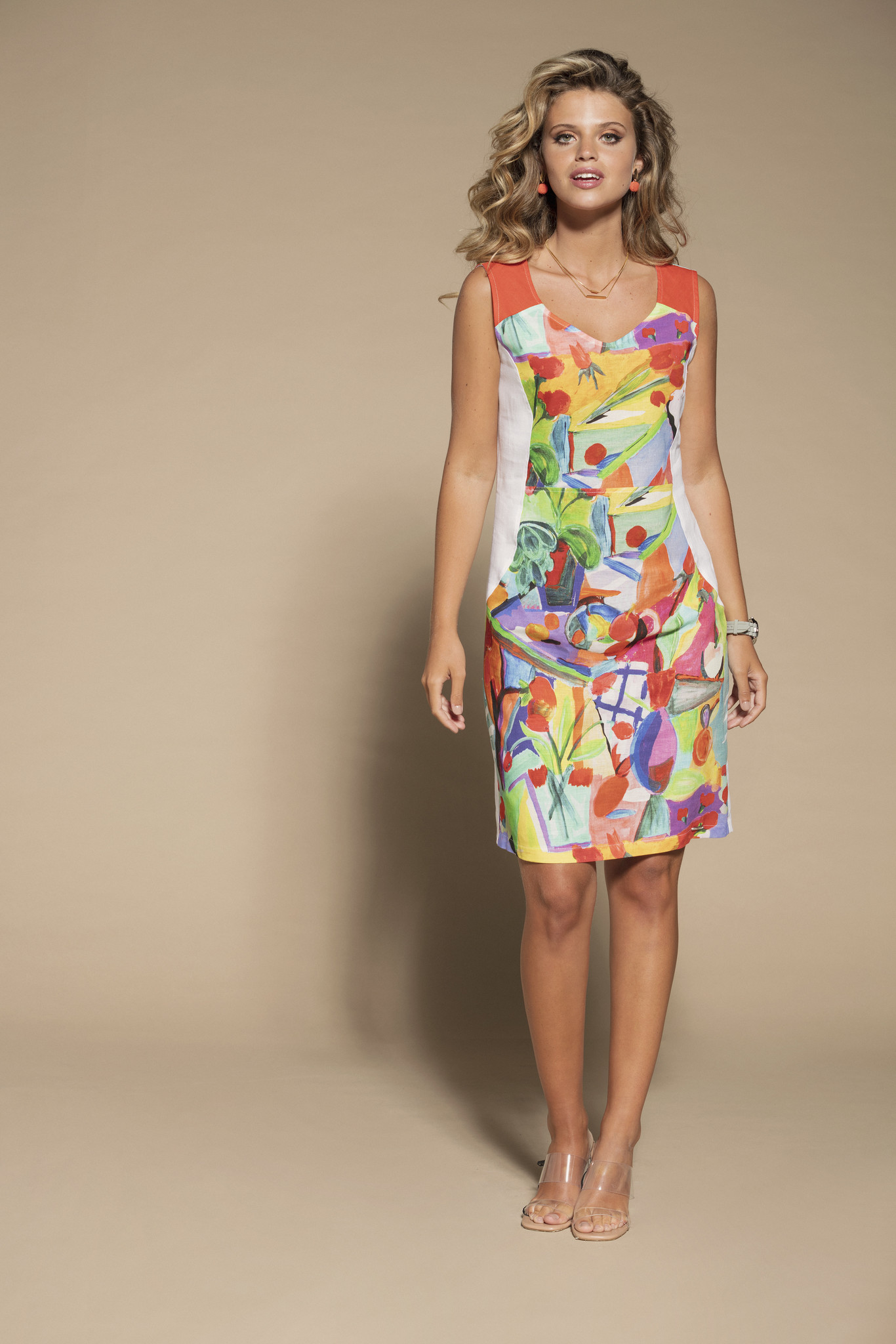 "Maloka Maloka ""Carlotte"" printed dress"