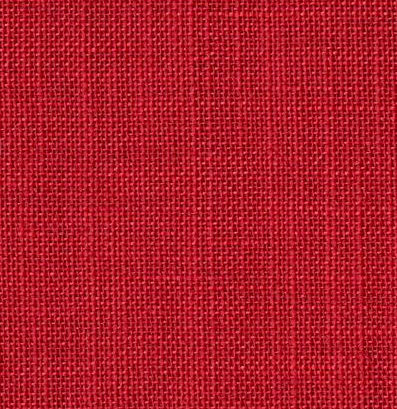 """embroidery linen 12 wires  """"  cherry red """""""