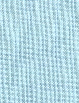 "embroidery linen 12 wires ""sky blue"""