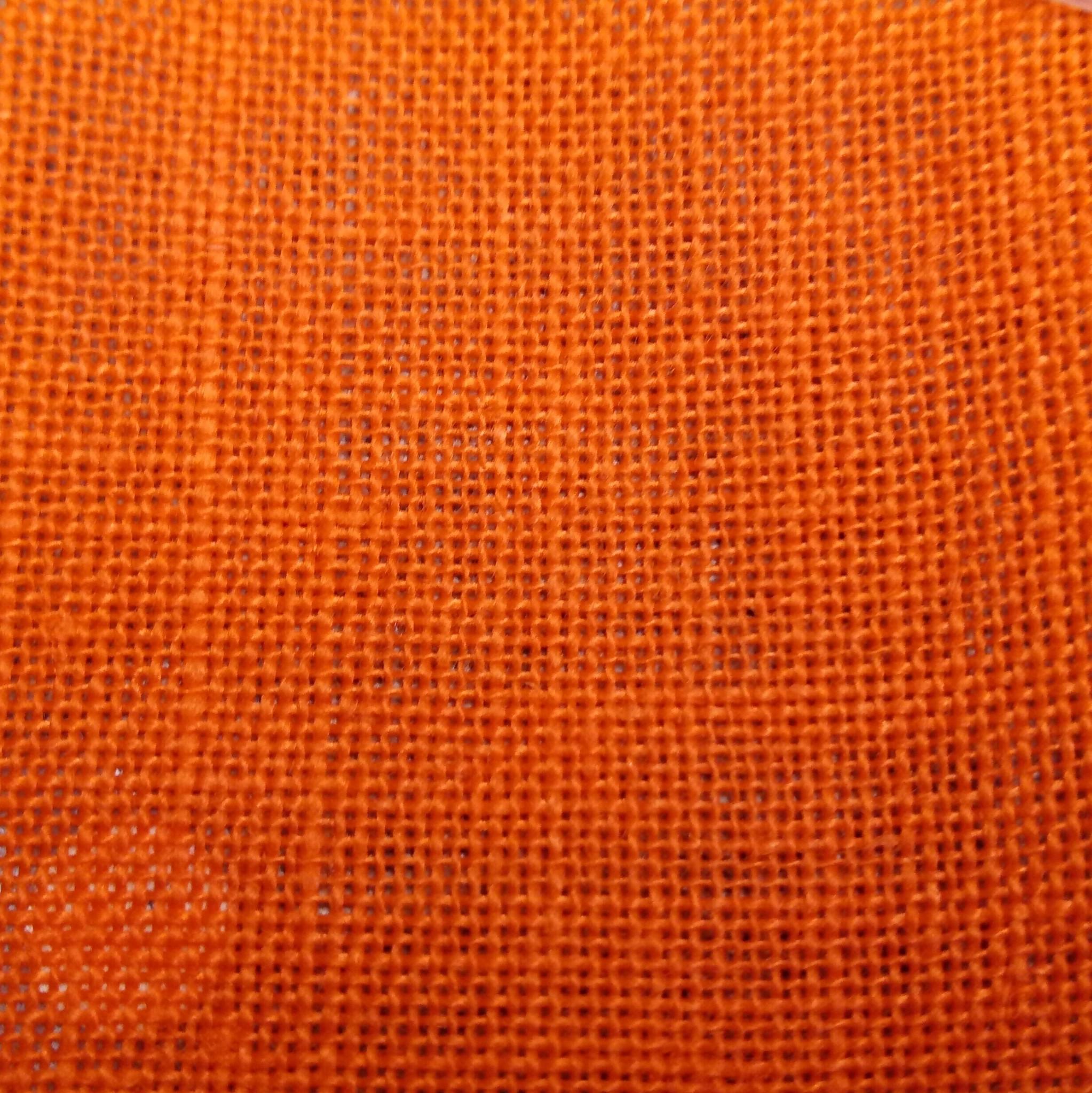 """borduurlinnen 12 draden """"oranje"""""""