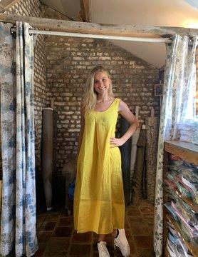 Le grenier du lin Robe Indira Curry